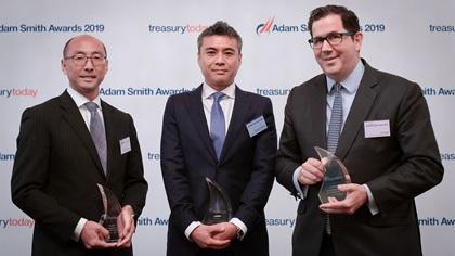 Best Short-Term Investing Solution Winner: Recruit Global Treasury