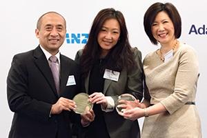 Hadyan Soemarjono and Rachel Tang, Wyndham Worldwide Corp, Christine Tan, J.P. Morgan