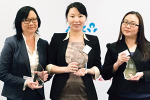 Angelique Tan, Bank of America Merrill Lynch, Ying Cao, General Motors and Pauline Wee, Deutsche Bank