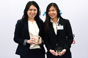 Elsa Lai, Citi and Hui Yuen Yong, Kao Corporation