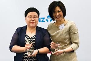 Tian Yue, Freescale Semiconductor, Christine Tan, J.P. Morgan