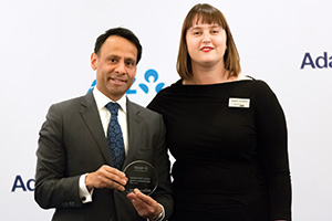 Munir Nanji, Citi collecting the award on behalf of BASF