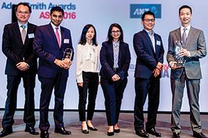 KK Wong, GE, Saurabh Gupta, Citi, Brenda Oh, Shilpa Narula, Kevin Voong, and Vincent Liu, GE