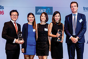 Melvyn Low, Citi, Jewel Co Villanueva, Mabel Ee, Jelina Bargas and Nicolas Defauw, Procter & Gamble