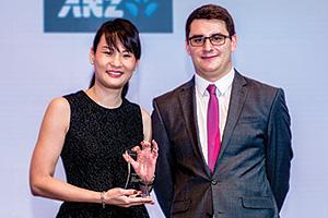 Angeline Yeo, Hewlett Packard Enterprise and James Hayward