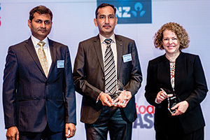 Shailendra Kumar, Harish Kumar, Amway India Enterprises and Deborah Mur, Citi