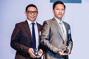 Mario Ng, DBS and Ken Wong, Chinachem Group
