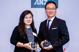Ivone Hodiny, DBS and Conny Hayashi, TCC Group