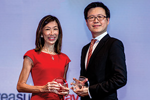 Valerie Heng, Lenovo and Melvyn Low, Citi