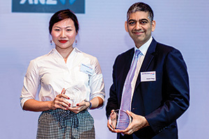 Chalene Aw, Havas Creative Group and Deepan Dagur, ANZ