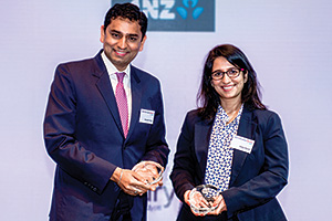 Saurabh Gupta, Citi and Shilpa Narula, General Electric