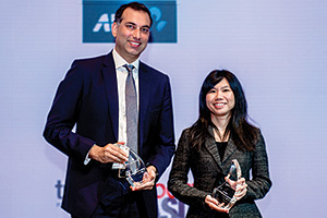 Raj Melvani, Thomson Reuters and Michelle Tay Mi Xue, Mercuria Asia Group Holdings