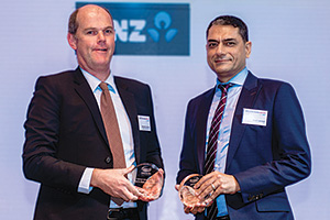 Brendon Connelly, Fonterra Co-operative Group and Rohit Jamwal, Citi