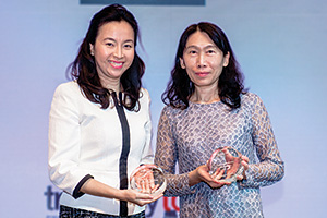 Cynthia Koh, Citi and Miao Chiu, Nan Shan Life Insurance