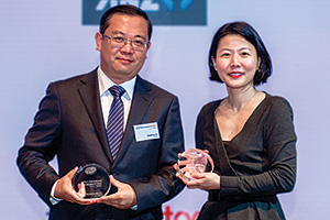 Matthew Xu, Pfizer and Lillian Sim, J.P. Morgan