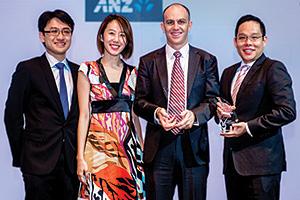 Tay Jingmin, Serene Tan Yung Wee and Robert Kelly, Zoetis and Mark Foo, J.P. Morgan