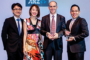 Tay Jingmin, Serene Tan Yung Wee and Robert Kelly, Zoetis and Mark Foo, J.P. Morgan