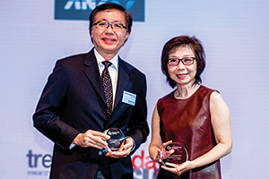Yew Kin Wah, Singapore Power and So Lay Hua, United Overseas Bank