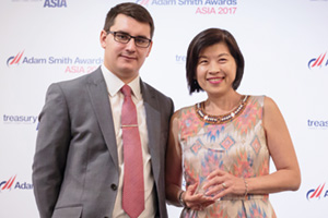 Photo of James Hayward and Florence Tan, M+W Group.