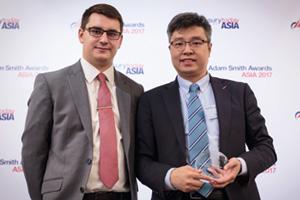 Photo of James Hayward and Chan Man Wai, Sime Darby Motor Group (HK) Ltd.