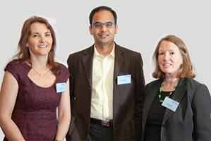 Photo of Fiona O'Leary, Raj Ramapatna and Susan Webb