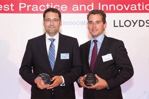 Photo of Jörg Bermüller and Thomas Eberle, Deutsche Bank