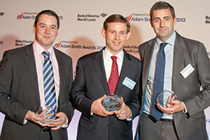 Rob Harrington, HSBC, Ben Haislip, Coca-Cola Enterprises and Steven Elms, Citi