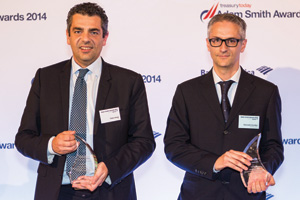 Fabio Vespo, Citi and Giancarlo Cicuttini, Brembo
