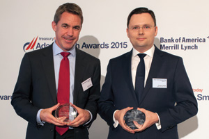 James Binns, Deutsche Bank and Karsten Kabas, Merz Pharma Group