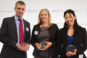 Simon Jones, J.P. Morgan, Isabelle Cote, Citi and Jennifer Wan, Bank of America Merrill Lynch