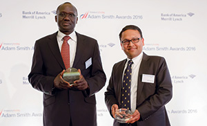 His Excellency Lazarus Amayo, Kenya High Commision and Amit Agarwal, Citi