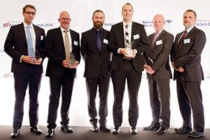 Jan Obermeier, Standard Chartered, Ulf Kålbäck, Nordea, Mo Hamdan, Benedikt Zimmerman-Kuehne, Kuehne + Nagel, John Murray, Citi and Tamas Csomo, Kuehne + Nagel