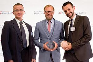 Zsolt Tajti and Marco Brähler, F. Hoffmann-La Roche and Heiko Schwalb, Euroclear