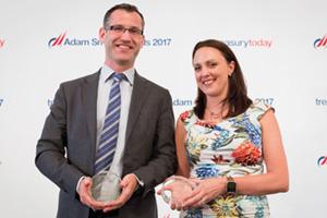 Rónán Clifford, Honeywell and Gail Erskine, Barclays