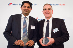 Divyesh Modi, Barclays and David O'Rourke, Ornua Co-operative Ltd