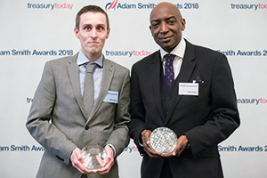 Photo of Steven Booth, Sodexo and Amos Curtis, Citi