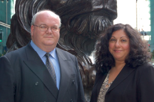 Photo of Robin Terry and Yera Hagopian