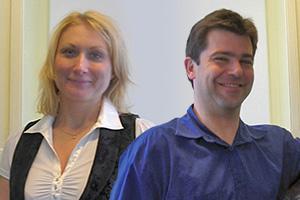 Photo of Hana Meijer and René Ramos