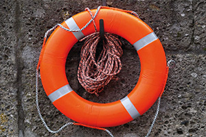 Photo of life buoy