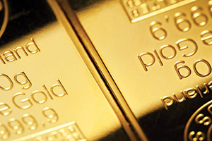 Close up of gold