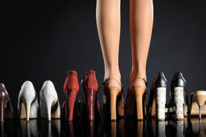A selection of women's shoes