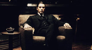 Al Pacino as Michael Corleone in The Godfather Part 2