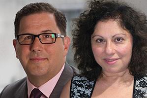 Jim Fuell and Yera Hagopian of J.P. Morgan