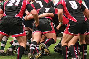 Photo of a group of rugby players
