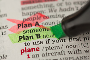 Highlighted definition of Plan B