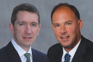 Jonathan Curry and Nick Jones, HSBC