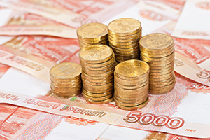 ruble all over the world treasury today