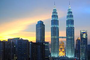 Kuala Lumper Petronas twin towers, Malaysia