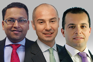 Amit Agarwal, Emre Karter and Dimitrios Raptis from Citi