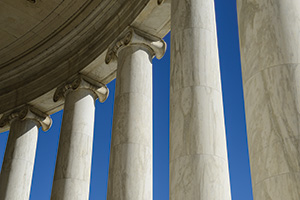 Group of pillars